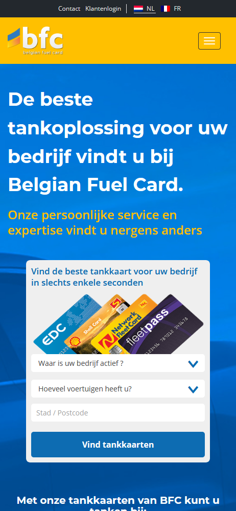 Belgian Fuel Card